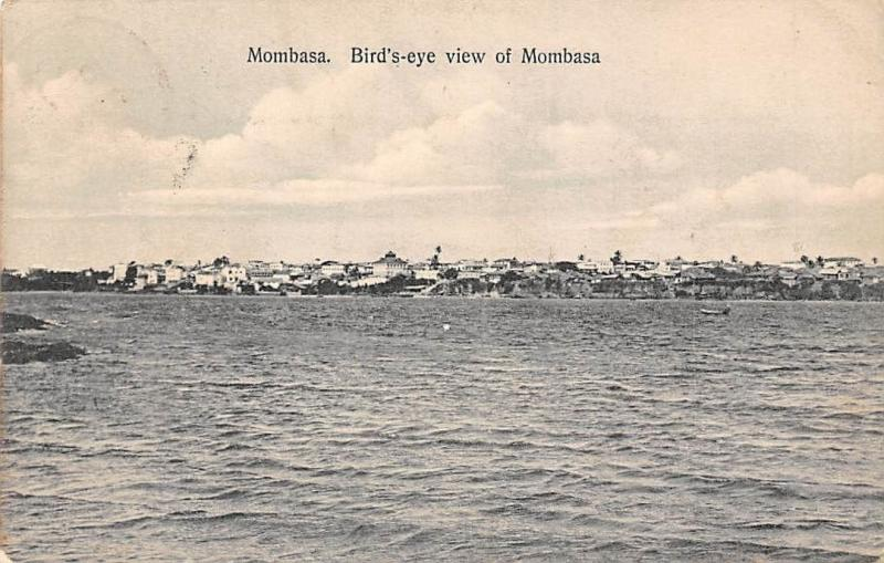 Kenya Mombasa, Bird's-eye view