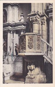 LA CORUNA, Galicia, Spain, 1900-1910's; Santiago, Pulpito