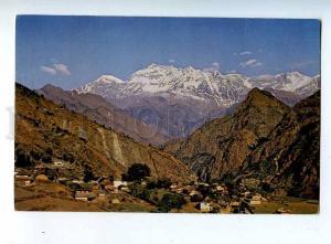 203308 NEPAL KATHMANDU Hotel de L'Annapurna ADVERTISING RPPC