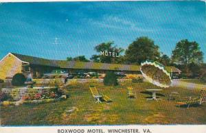 Virginia Winchester Boxwood Motel