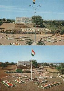 Republique Du Niger Musee National Niamey Africa 2x Postcard s