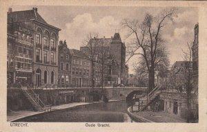 UTRECHT , Netherlands , 00-10s ; Oude Gracht