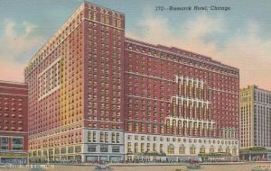 Chicago IL, Illinois - Bismarck Hotel - Linen
