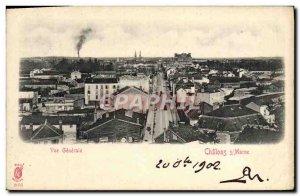 Old Postcard Chalons Sur Marne Vue Generale