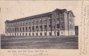Gym Building, Iowa State Normal, CEDAR FALLS, Iowa, 1900-1910s