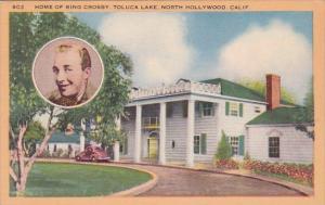 Home Of Bing Crosby Toluca Lake North Hollywood California