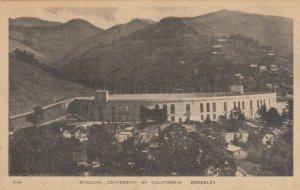 BERKELEY , California, 1900-10s ; Stadium of University of California