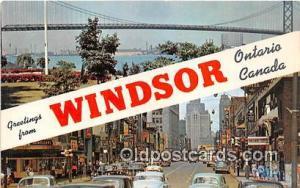Windsor Ontario Canada Postcards Post Cards Old Vintage Antique Ontario Canad...