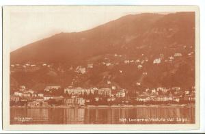 Switzerland, Locarno, Veduta dal Lago, early 1900s RPPC