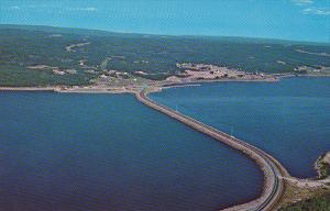 Canada Canso Causeway Looking Towards Cape Breton Nova Scotia
