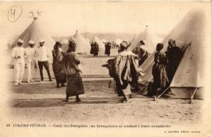CPA Colomb Bechar Camp des Senegalais ALGERIE (748608)