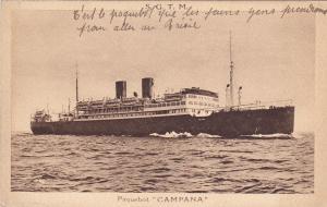 S.G.T.M. Paquebot CAMPANA , 1910-20s