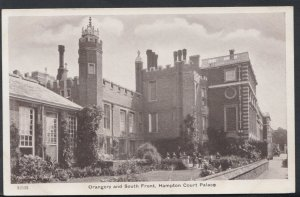 Middlesex Postcard - Orangery and South Front, Hampton Court Palace   RS7858