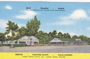 INDIAN ROCKS, Florida, 1930-40s; Indian Rocks Fruits, Inc,