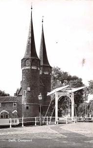 Delft Holland Oostpoort Delft Oostpoort