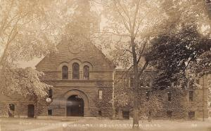 Belchertown Massachusetts~Clapp Memorial Library~Ghost Hunters~Haunted~1914 RPPC
