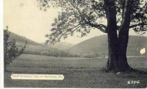 Blue Mountain Gap at Hamburg, Pennsylvania,00-10s