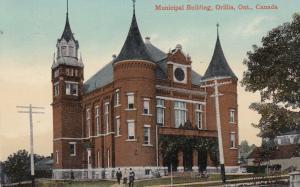 ORILLIA , Ontario , Canada , 1900-10s ; Municipal Building