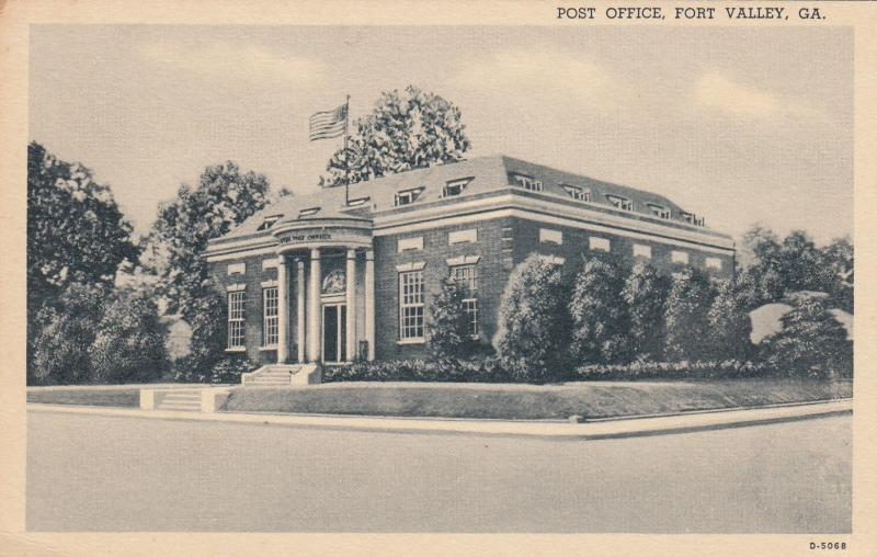 FORT VALLEY, Georgia, 1930-40s ; Post Office