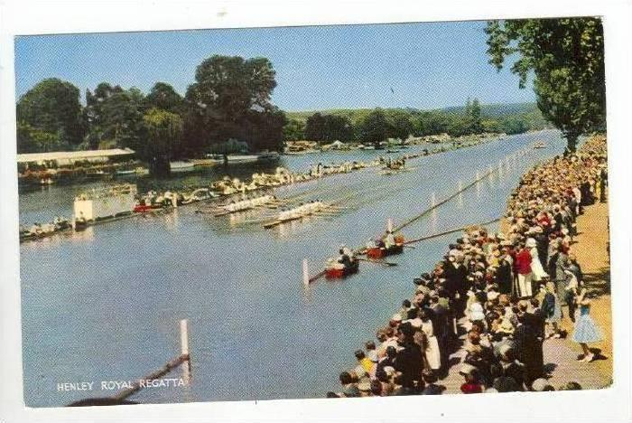 Henley Royal Regatta on the Thames,Henley on Thames,England,UK 1930-40s