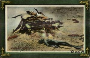 Calcutta - Burning Bodies Ghat - MaCabre c1910 Postcard