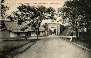 CPA AK INDOCHINA Tonkin Porte Nord dans la Citadelle VIETNAM (956861)