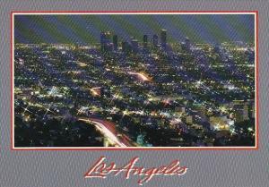 California Los Angeles Glimmering Los Angeles