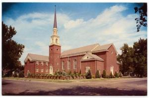 Boise, Idaho,  Early View of The First Baptist Church