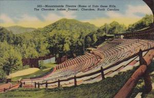 Mountainside Theatre Cherokee North Carolina