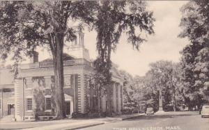 Massachusetts Lenox Town Hall