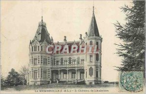 Old Post Card La Membrolle (I and L) of the Chateau Aubriere