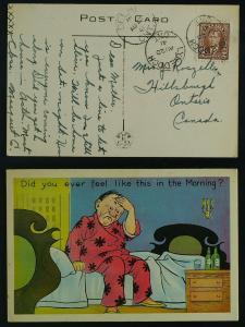 Comic  PEO  Lynedoch  CDS , Delhi  Ontario 1941 GEOVI