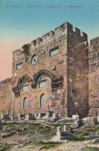 JERUSALEM, Israel, 00-10s ; Golden Gate