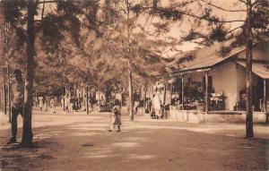 German East Africa Tanzania, Strasse in Lindi, D.O.A. Street Postcard