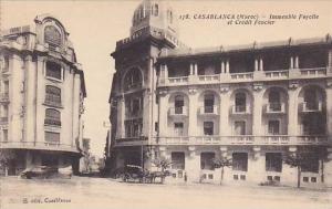 Casablanca (Maroc) - Immeuble Fayolle et Credit Foncier , 1910s