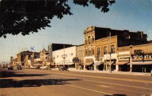 Logan Utah~Main Street~JC Penney~Christensen's~Wicket's~X on Grandma's Apt~1953