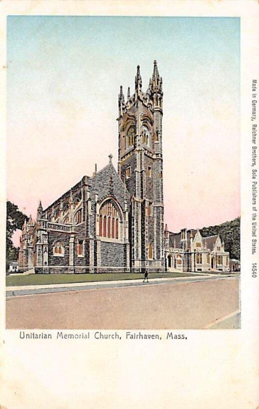 Unitarian Memorial Church Copper Windows Fairhaven, Massachusetts, USA Unused