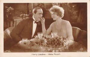 B23213 Actors Acteurs Harry Liedtke Hilda Rosch   actor movie star