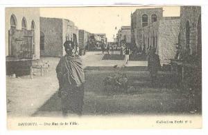 Une Rue de la Ville, Djibouti, Africa, 1900-1910s