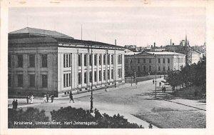 Karl Johnsgate Kristiania, Unviersitetet Norway Unused