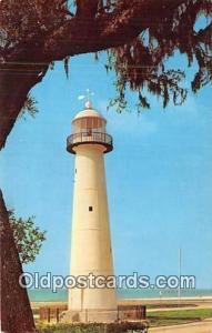 Biloxi, Mississippi, USA Postcard Post Card Historic Old Lighthouse