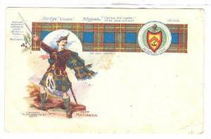 Clan MacLaren (Highland Scottish Clan), Badge Laurel, Scotland, UK, 1900-1910s