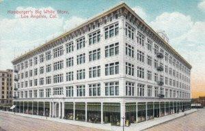 LOS ANGELES , California, 1900-10s ; Hamburger's Big White Store