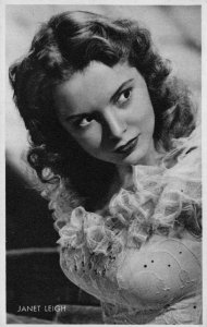 Janet Leigh Vintage Rare Kwatta Film Movie Postcard Size Portrait