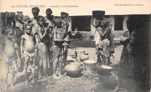 Guinea Guinee Francaise Conakry: A la Fontaine, Natives