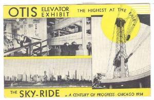 Otis Automatic Signal Control The Sky Ride Elevators, Chicago, Illinois, PU...