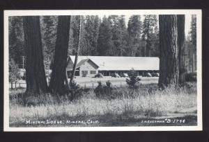 RPPC BEND OREGON BEND AUTO COURT ROADSIDE MOTEL OLD REAL PHOTO POSTCARD