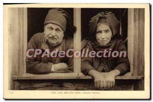 Postcard Old Ech Ech Lueg Lueg Was Benjamin Vallotton