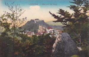 Germany Lindenfels Blick auf die Stadt