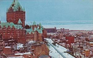 Canada Quebec La Cite Quebec In Winter